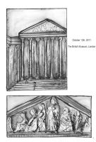 Welcome to the British Museum pg1 by Vez