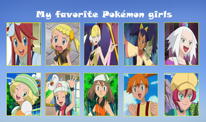 My favorite pokemon girls meme by Gamer5444