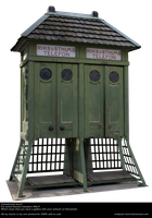 Old Phone Booth By Cindysart-stock by CindysArt-Stock