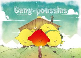 Gang de poussins by Evi-san