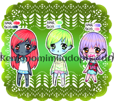 Adopt batch  #1 Auction CLOSED by kemonomimiiadopts