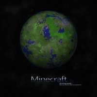 Minecraft Planet by LilioTheOne