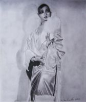 Ms. Josephine Baker by graphite220