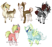 Pony Adopts: CLOSED by Kuro-Creations