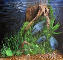 Fishtank backdrop by SamBrownArt