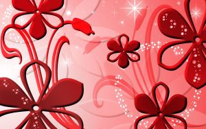 Sookie Red Petal Wallpaper by sookiesooker