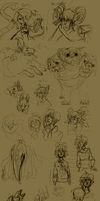 OC Sketch Page part 3 by Simply-Psycho