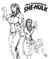 She-Hulk by toegar