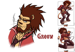 Urban Rivals FanArt: Greow by KingdomHeartsKeeper