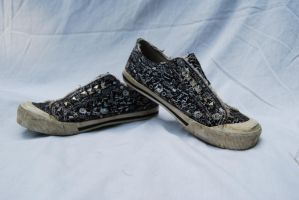 Studded Shoes by DestroyingAngels