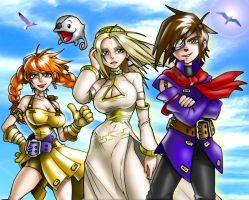 Skies of Arcadia by CerberusLives