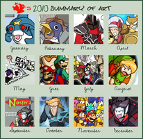 BT's 2010 art summary by BrokenTeapot