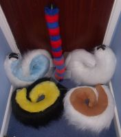 Fursuit tails for sale (Clearence) by MadHamsterCostumes