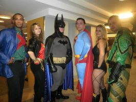 Justice League of America by Catgirl-Calla