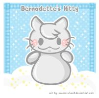kawaii Bernadette's Kitty by miemie-chan3