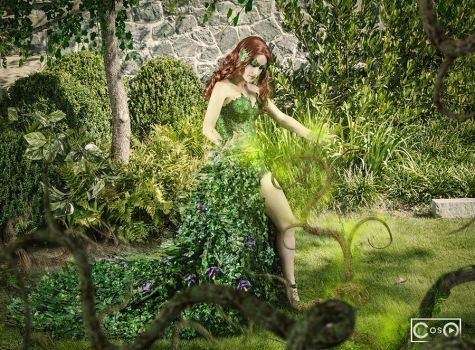 Model - Kira Kouture  Poison Ivy by moshunman