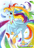 Princess Rainbow Dash by yuki-zakuro