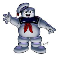 OC Stay Puft Marshmallow Man by rongs1234