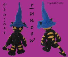Luneow Plush by Assassin-VariableX