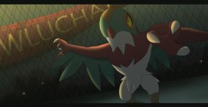 Hawlucha by All0412