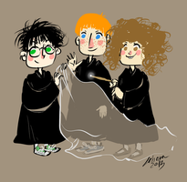 The Golden Trio by Lahara