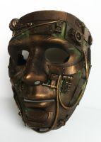 steampunk mask by richardsymonsart