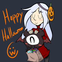 Happy Halloweenies by Cruxia