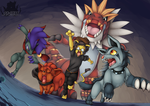 [Poke-Auction] Cave Chasing by Pikuna