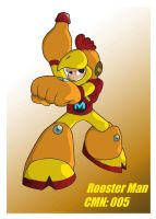 Mega Man '11': Rooster Man by Rootay