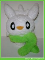 Chespin Snowmon by sorjei