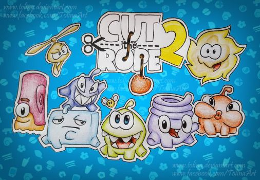 Cut the rope 2 by Tolina