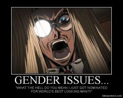 Gender Issues.... by Wolfprincess87