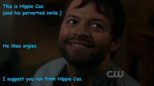 Hippie Castiel. by almostdefinitely