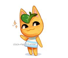 citrus cat by Clock--Heart
