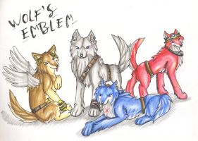 Wolf's Emblem - The Pack by Zeiky