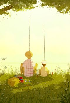 Summer Weekend by PascalCampion