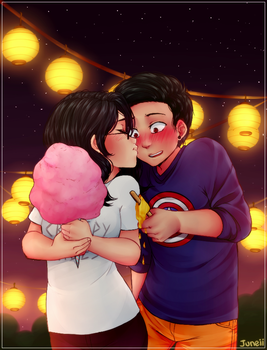 [Art Trade] Perfect Date~ by M-Juneii