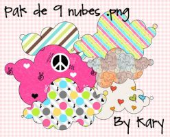 nubes png by By-Kary