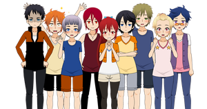 ..::Free! Kisekae Version - Export Set::.. by Xx-Chellie-Bellie-xX