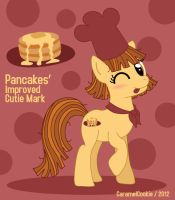 Pancakes' Improved Cutie Mark by CaramelCookie