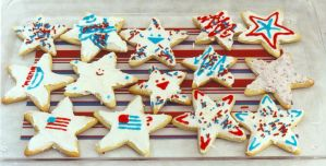 Independence Day - Cookies by Kobb