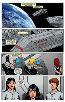Scifi - Commission page 1 Color by TheRafaLee