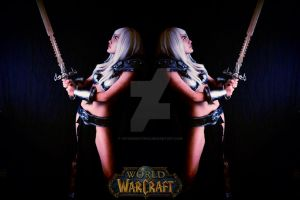 Lady Arthas Cosplay  - World of Warcraft by YetisCreations