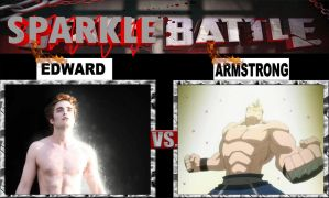 Edward vs Armstrong - Sparkle Battle by rubenimus21