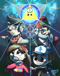 Mysteries of Gravity Falls by ParadigmPizza