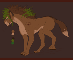 Talan Beast Ref- Opinions plz by The-Hare