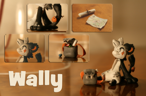 .:Sculpture:. Wally the Bagbean by Ne-chi