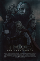 THOR: The Dark World | Theatrical Poster by Squiddytron
