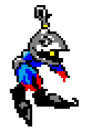 pixel heartless soldier by kingsorahearts