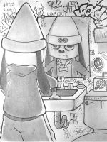 Parappa the Rapper by emceelokey